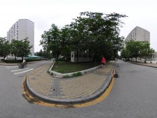 中国人民大学-宿舍楼全景
