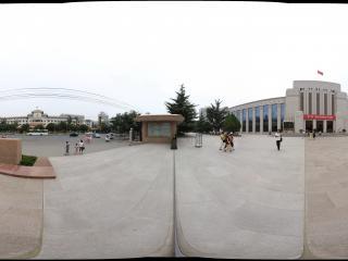 甘肃省博物馆广场