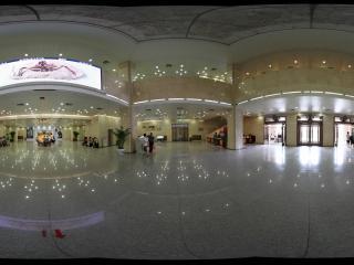 甘肃省博物馆的进门大厅