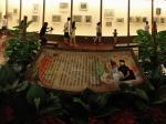 潘玉良画展展厅全景