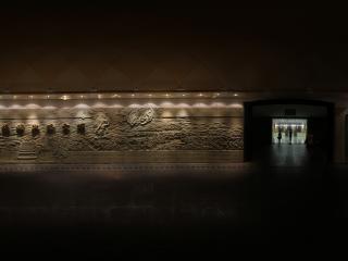 甘肃丝绸之路文明展厅
