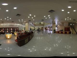 甘肃博物馆一层大厅的纪念品售卖部