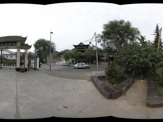 甘肃黄河边的水上清真寺