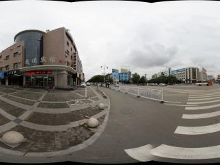 嘉峪关市区的街道