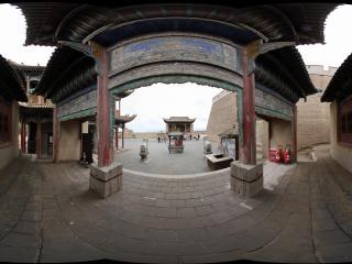 嘉峪关关城内古建筑