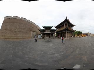 嘉峪关广场内广场一侧