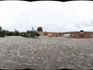 嘉峪关关城内练兵场