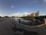 乌鲁木齐南湖广场全景