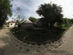 哈萨克族的毡房全景