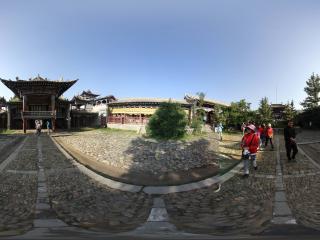 丹葛尔古镇城隍庙 NO.2全景