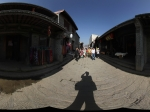 明清老街全景