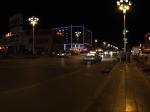 格尔木市区夜景全景