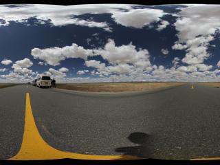 通往可可西里的公路