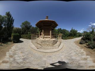 兰州莫高窟入口附近的佛龛