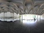 兰州敦煌艺术陈列馆的大厅全景