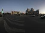 兰州敦煌市中心的建筑全景
