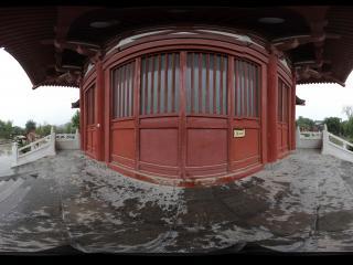 华清宫长生殿前台阶上