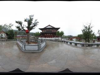 华清宫长生殿右边