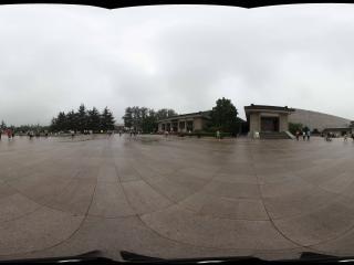 兵马俑博物馆入口广场
