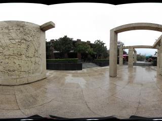 兵马俑街道广场的浮雕景观