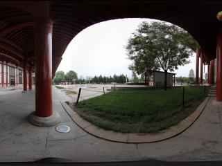 大雁塔广场的回廊之一