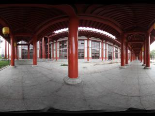 大雁塔广场的回廊之二