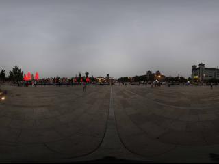 大雁塔北广场夜景