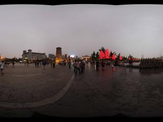 大雁塔广场夜景