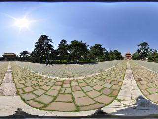 沈阳清昭陵墓区建筑之一