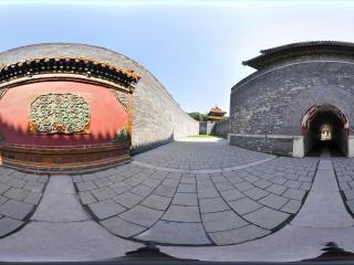 沈阳清昭陵陵墓入口