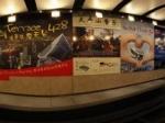 香港岛太平山顶缆车站全景