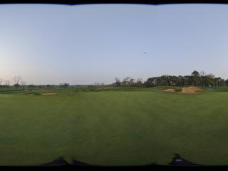 翡翠湖高尔夫球场第十七洞果岭