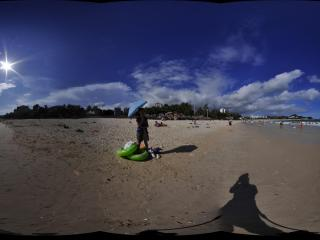 三亚大东海沙滩