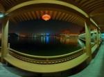 曲江池夜景全景