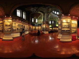 哈尔滨圣.索菲亚教堂内景