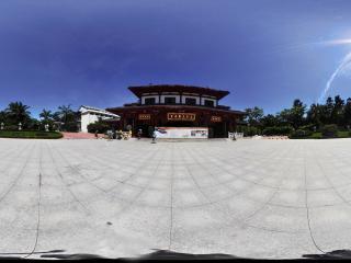 三亚南山文化苑仿古建筑