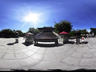 三亚南山文化苑焚香