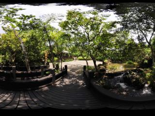 三亚呀诺达热带雨林潺潺流水