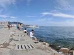 大连星海公园海边广场全景
