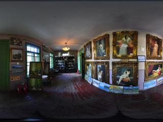 哈尔滨俄罗斯风情小镇油画展