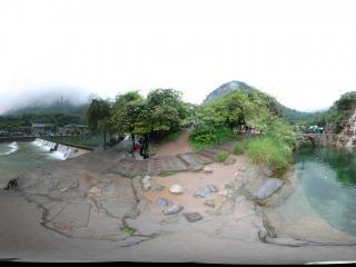 河南云台山全景