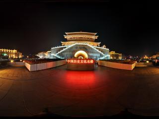 西安鼓楼虚拟旅游