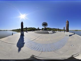 哈尔滨太阳岛铜像