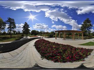 哈尔滨太阳岛小花园