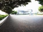 广州发展公园街道全景