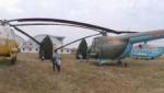 直升飞机广场全景