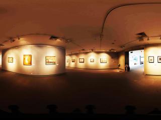 广州大学城美术学院画展
