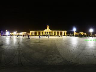 天津火车站夜景