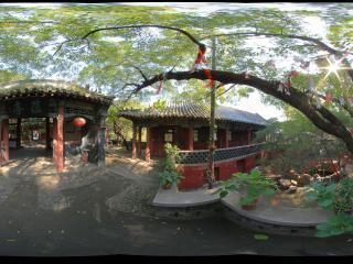泰山斗母宫全景