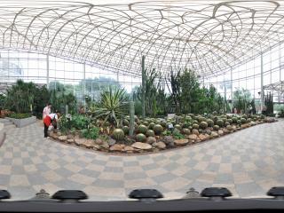 广州云台花园球形仙人掌全景